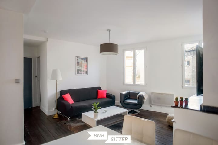 Charming 2 bedroom in the heart of Toulouse