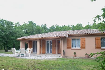 Gîte proche de Lauzerte dans le Quercy