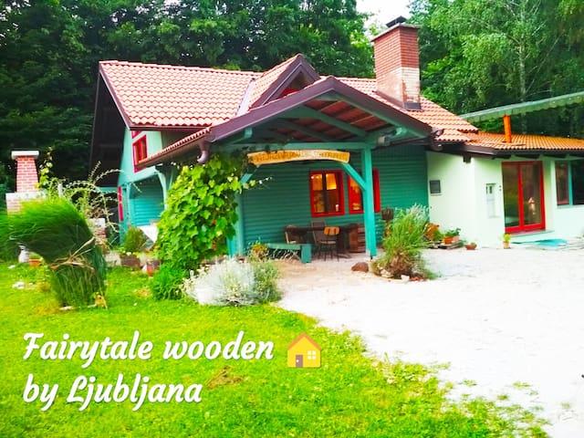 Fairytale Holzhaus in der Nähe von