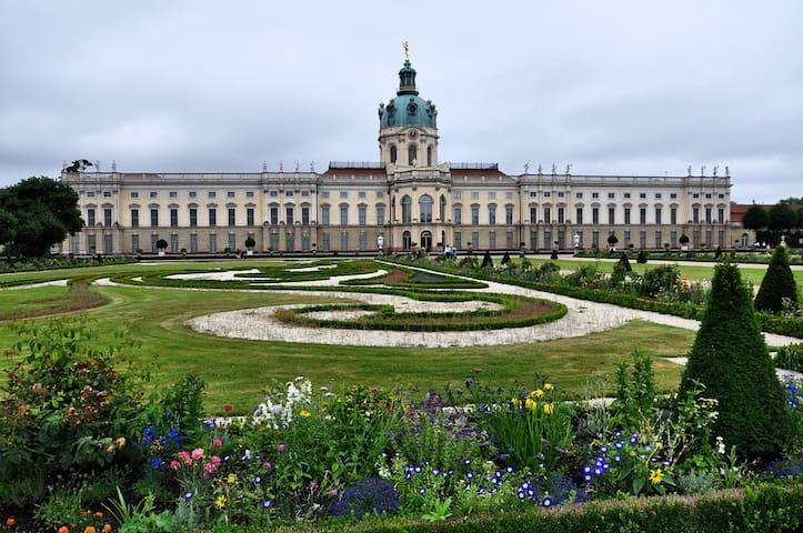 erholsames Apartment direkt am Schloss & Spree