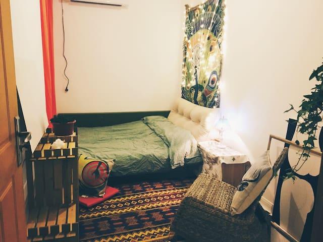欢迎你来吃我做的饭睡我的猫躺我的床来一野摄影师与疯造型师的家 - Hangzhou - Lägenhet