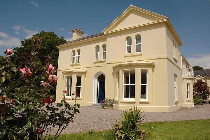 Manor House. Overlooking Lakes Killarney