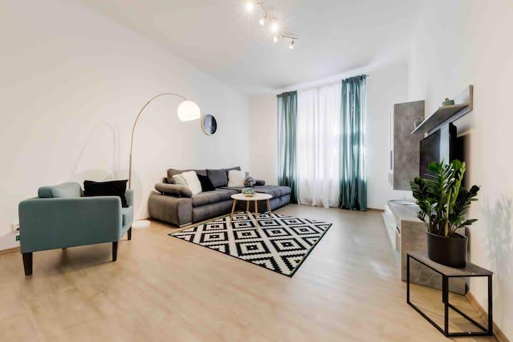 Luxury Design Apartment ~ Prague Center ✔️