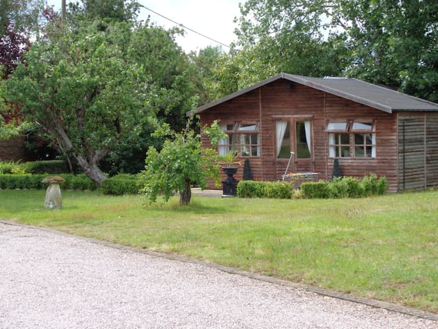 Self Contained Log Cabin Price for 2 People