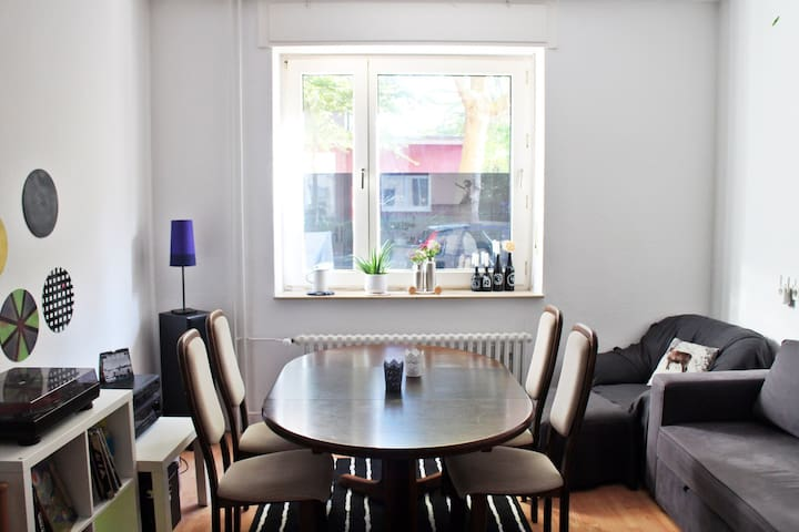 great, quiet city apartment close to train station - Bochum - Kondominium