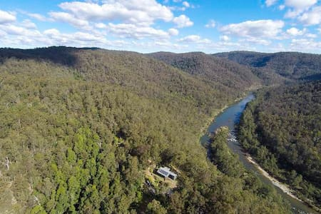 Nymboida River-Black Mountain-Ant Shack-4WD Access