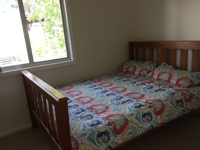 BEDROOM 3  DOUBLE BED AND BUILT IN WARDROBE