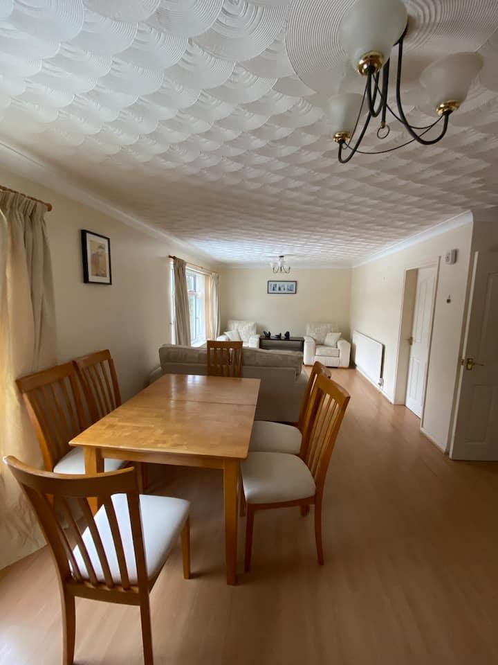 A beautiful room in a big flat