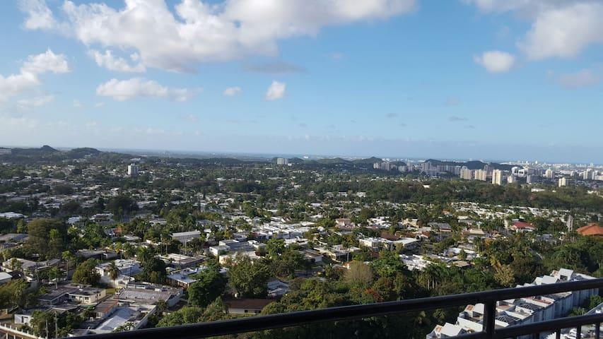 Altavista 1, Sea view, 300° View - Guaynabo - Daire