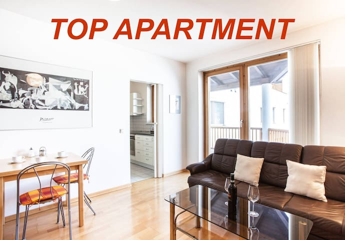 Gmunden, ruhig und zentrale Wohnung - Gmunden - Lägenhet