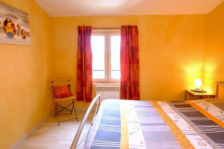 Domaine des Marrans, chambre au cœur du Beaujolais