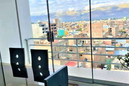 🏠  Departamento en Huancayo c/ WIFI x7 personas