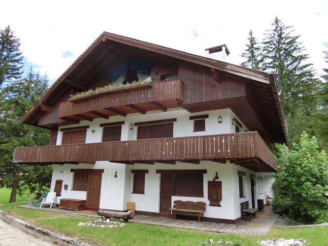 CIANDERIES a soli 5 minuti a piedi dal centro - Cortina d'Ampezzo - Huoneisto
