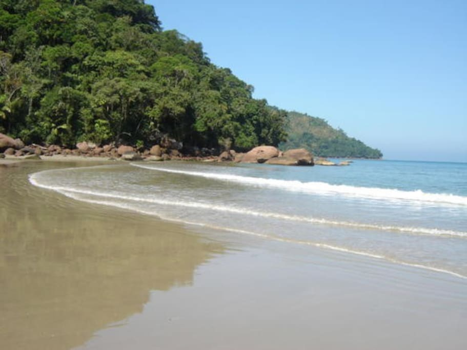 Canto da praia da LagoinhaRuinas