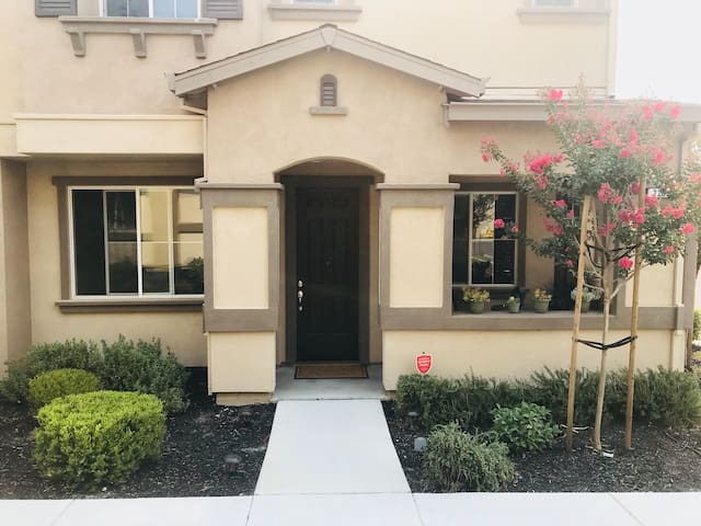 The front of my home