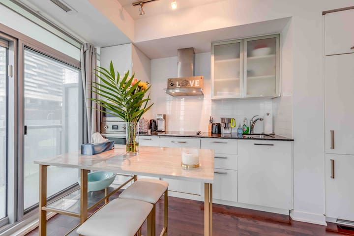 Deeply Cleaned 1BR Condo in Downtown Toronto!