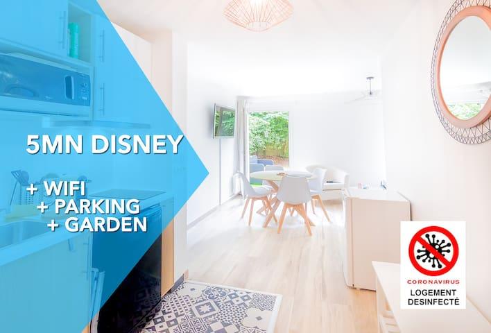 Clean & New Flat - Disneyland à 5mn+Wifi+parking