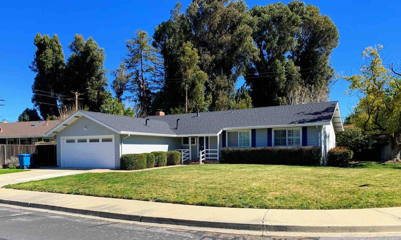 New Remodeled Home!  4br/2ba Walk to Apple Park!!!