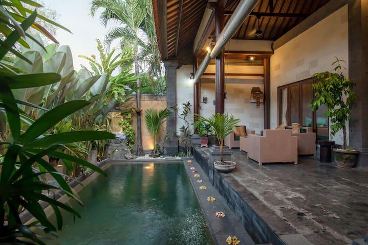 Gedong Bidadari Villa 2BR & private pool, Seminyak