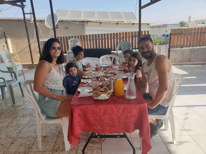 Our 2 bedrooms house/ Arad, Masada, Dead Sea