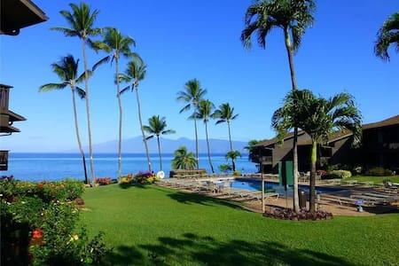 Ocean View - Mahina Surf 121 (One Bedroom One Bath Oceanfront) - Napili-Honokowai - Apartment