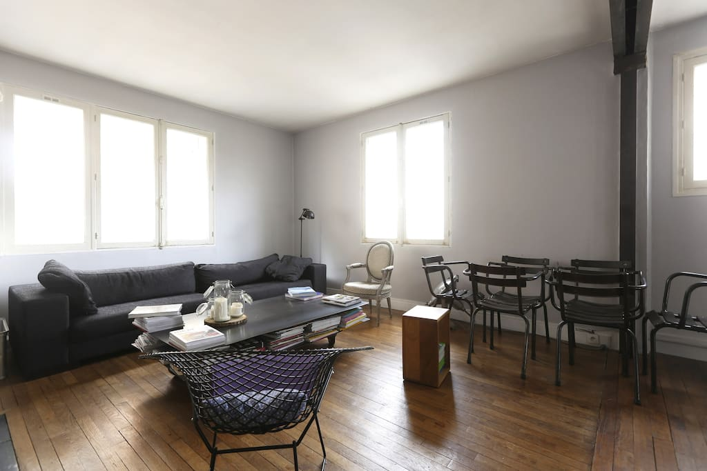 Appartement 2 chambres salon appartements louer - Salon de massage boulogne billancourt ...