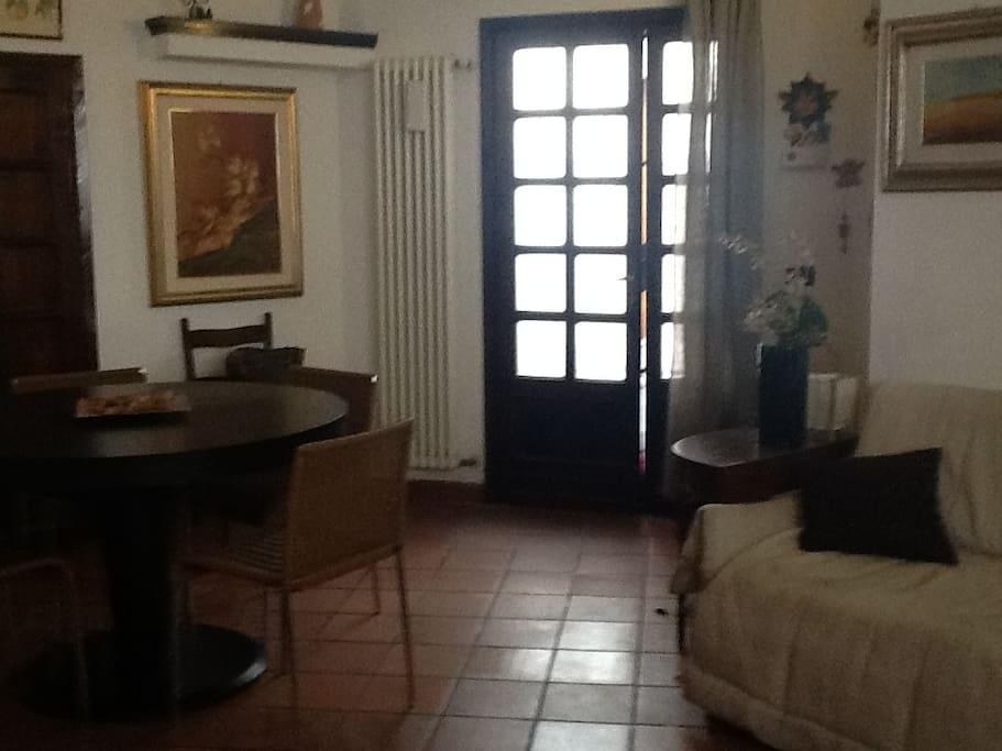 ingresso dall'esterno