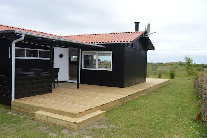 Sommerhus nær dejlig badestrand - Ålbæk - Zomerhuis/Cottage