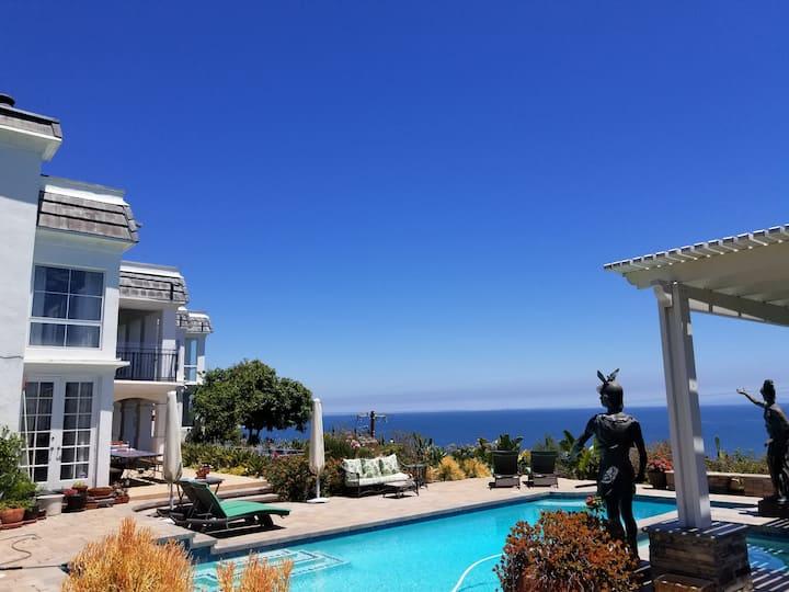 Ocean View Room in Malibu 2