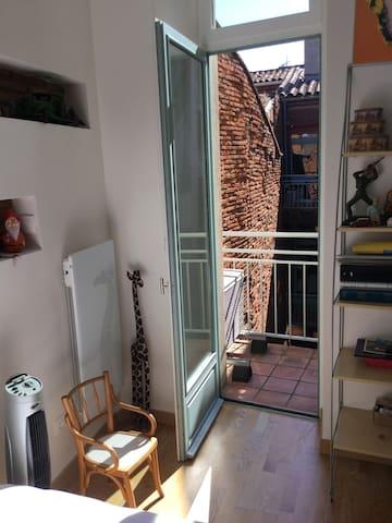 Balcon chambre 2