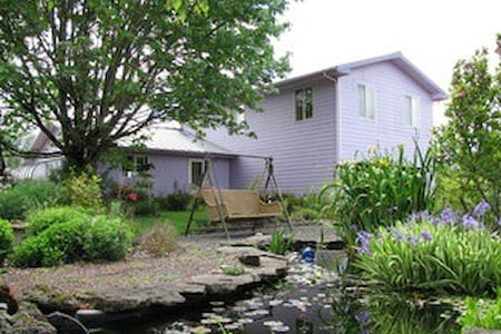 Beautiful house on 25 acre organic farm nr. Eugene - Pleasant Hill - Ház