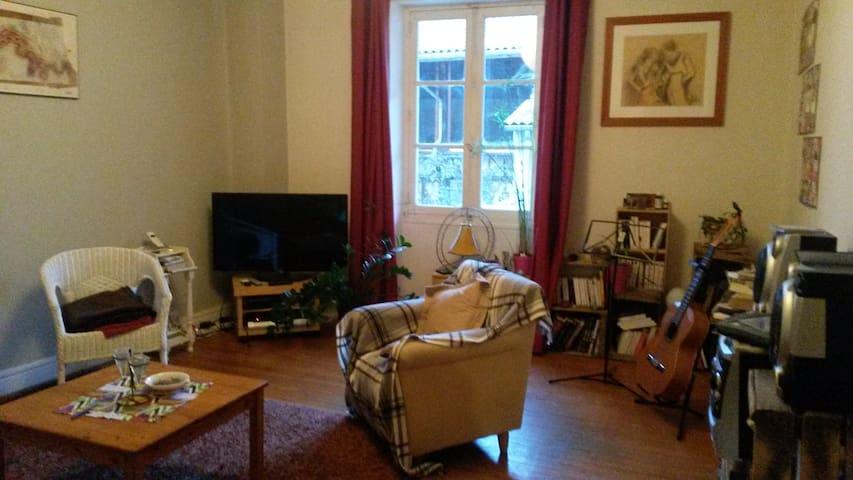 Chambre dans grand appartement avec terrasse - Bourg-de-Péage