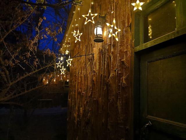 敦煌莫里果园独栋小木屋