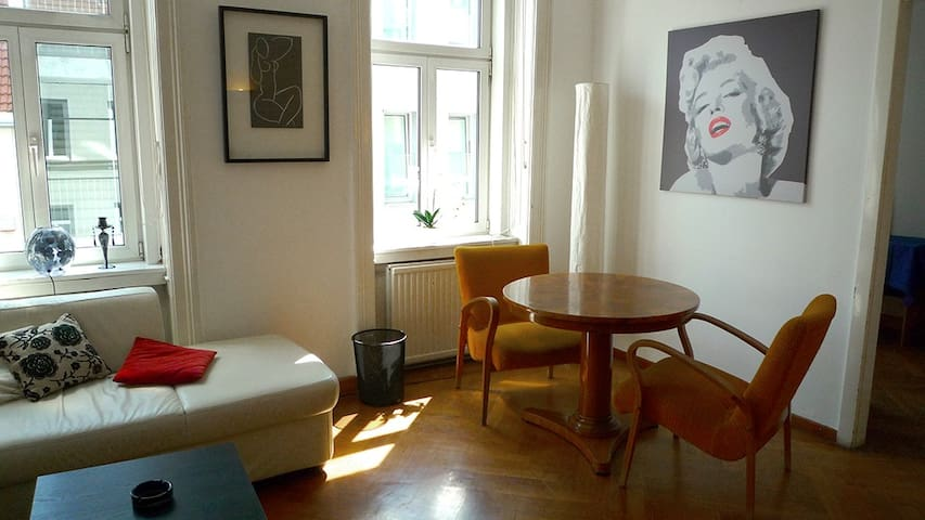 Cosy appartment in the 19th green district
