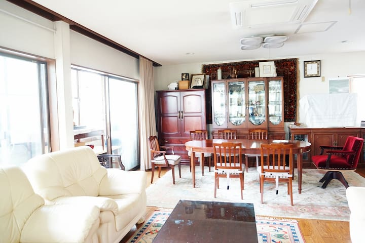 Tokyo Mansion For Families and Big Groups