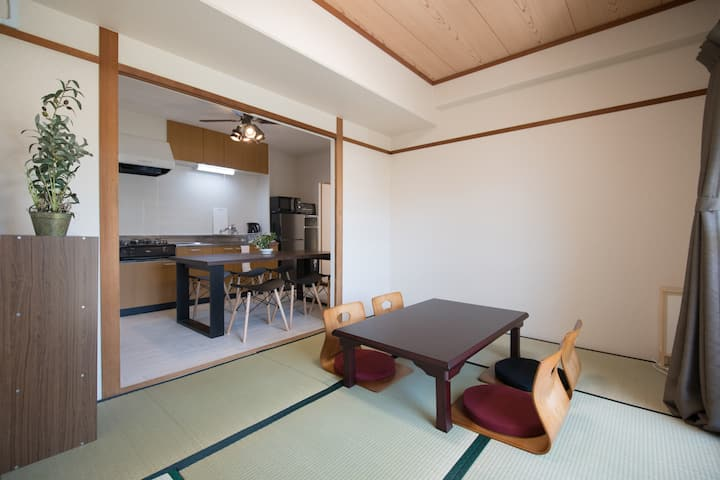 P203-Japanese and Western styles' Bedrooms!
