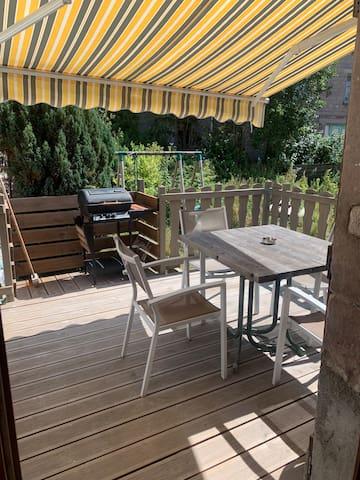 Logement avec balcon au centre de Gerardmer