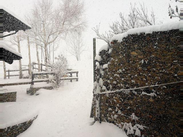 La Terrasse d'Ozein ..splendida vista Monte Bianco - Ozein - Villa