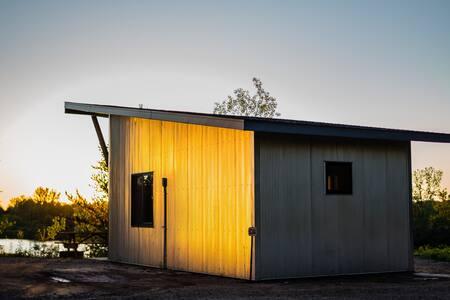 Cuyuna Cabins - Waterfront & Trail Connected - Crosby - Mökki