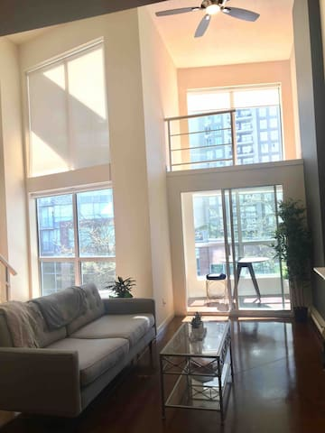 Gorgeous 720 sqft LOFT in downtown Vancouver