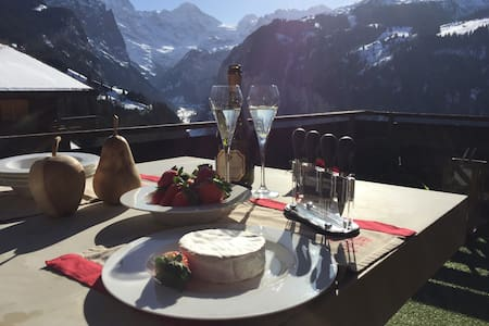 Luxury Chalet with best views in Wengen