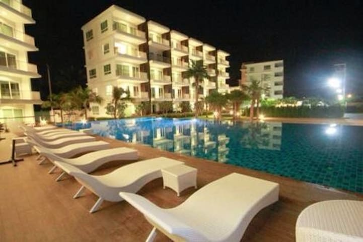 The Sea Condo@Dolphin Bay, Pranburi - Pran Buri - Leilighet