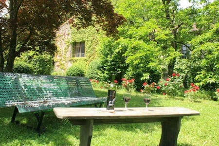 Stylish apartment, set within beautiful gardens. - Labastide-Rouairoux - Appartement