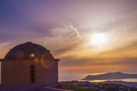 Azalea Houses - Skyline Villa - Pyrgos Kallistis - Casa de camp