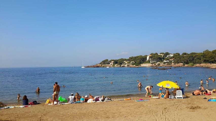 A 200 m. de la première plage Boulouris St Raphaël - Saint-Raphaël - Appartement