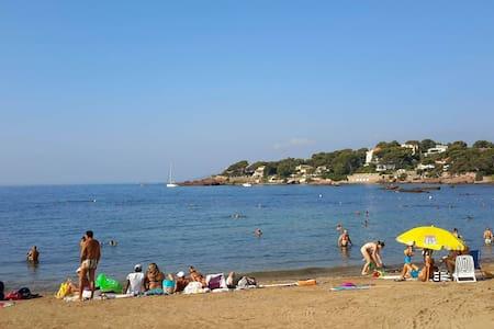 A 200 m. de la première plage Boulouris St Raphaël - Saint-Raphaël - Flat