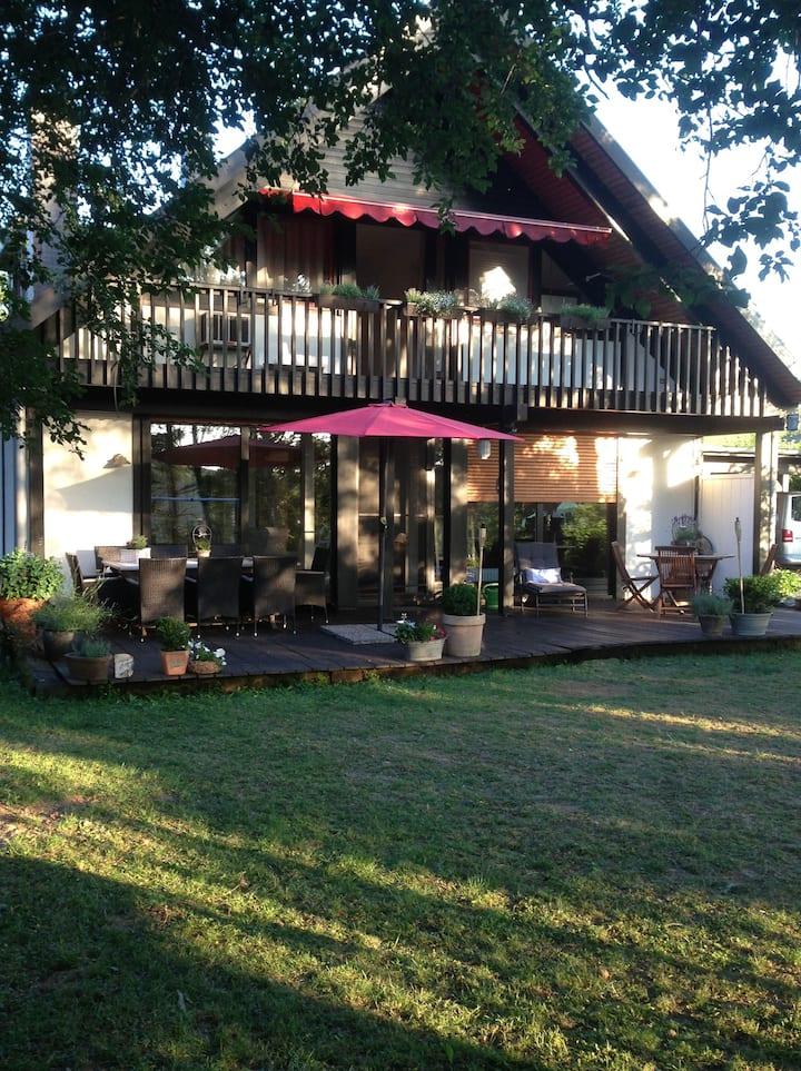Traumhaftes Landhaus: Ferienhaus Moselgrün