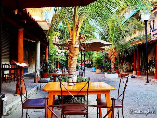 Lovely downtown Zihuatanejo Apartment
