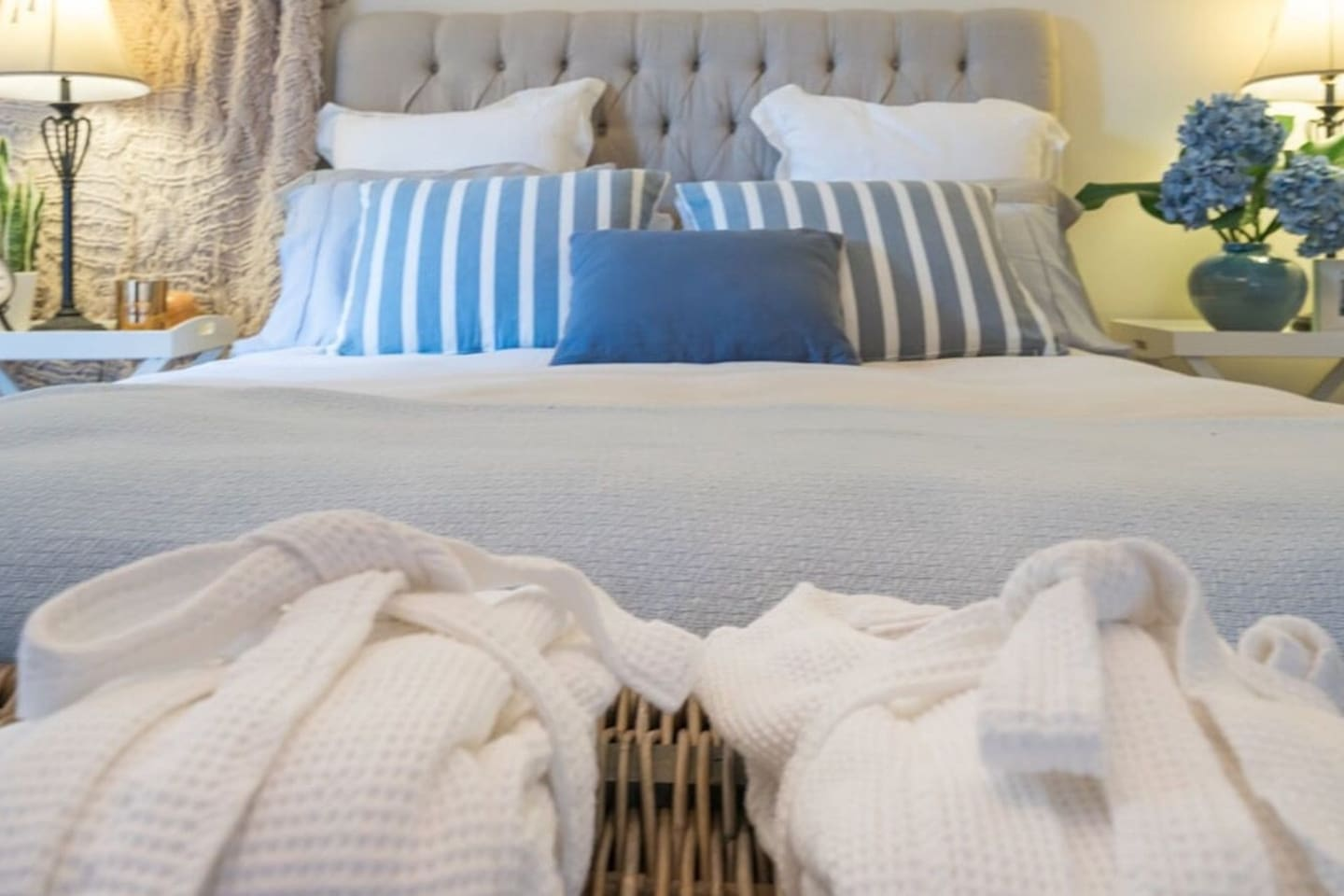 Beautiful French linen for a romantic getaway