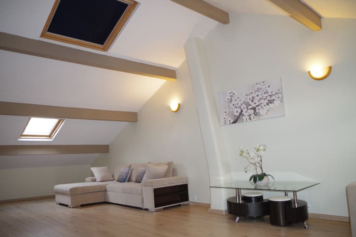 Apartment(90m2), WI-FI, parking